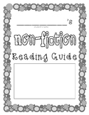 Student-Made Non-Fiction Reading Guide Book