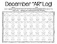 Student Monthly AR Tracking Logs