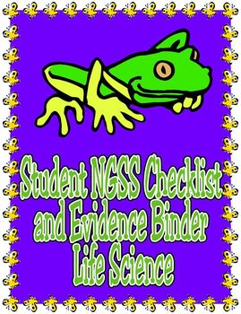 Student NGSS Checklist and Evidence Binder: Middle School