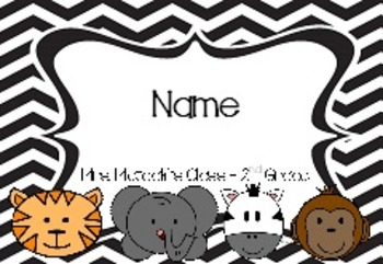 Student Name Tags - Editable
