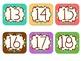 Student Number Tags/Calendar Numbers {Freebie!}