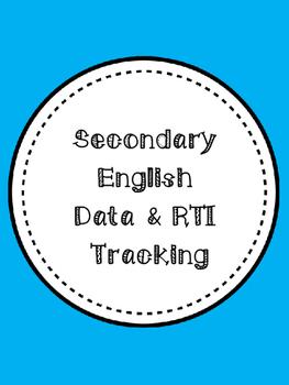Secondary English Data & RTI Tracking