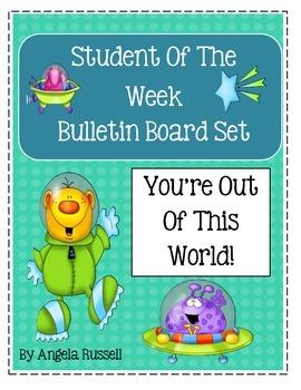 Student Of The Week ~ Cute Bulletin Board Set