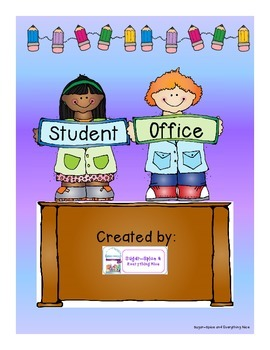 Student Offices Kindergarten or First Grade Basic Concepts