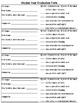 Student Peer Evaluation Form