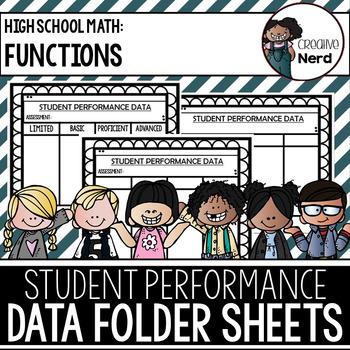 Student Performance Data Folder Sheets (High School Functi