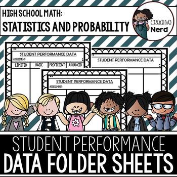 Student Performance Data Folder Sheets (High School Statis