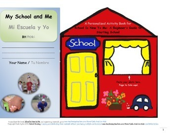 Companion Activity Book to SCHOOL IS NEW TO ME (ENG-SPAN)