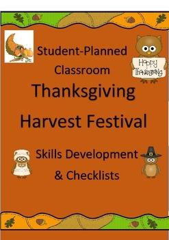 Student-Planned Classroom Thanksgiving Festival: Skills De