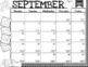 First Grade Calendar / Planner