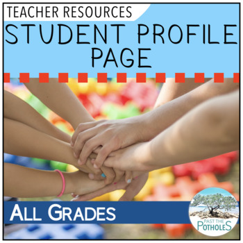 Student Profile page - FREE!