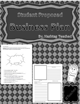 Differentiated Student Proposed Business Plan - Covers Sup