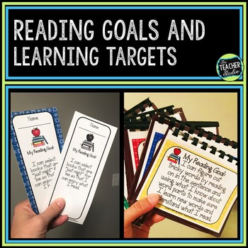 Student Reading Goals Collection:  Learning Targets for Fo