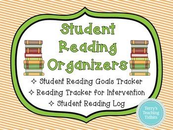 Student Reading Organizers