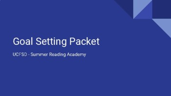 Student Reading Pack
