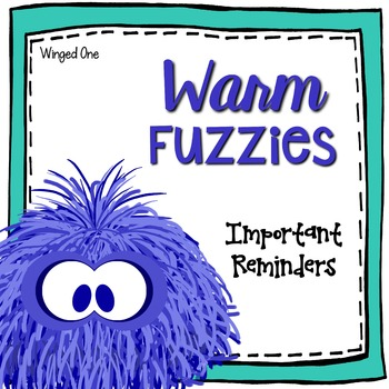 Student Recognition: Warm Fuzzies