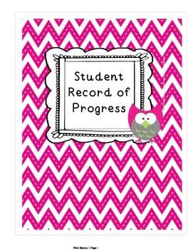 Student Record of Progress
