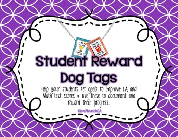 Student Reward Dog Tags to Motivate Higher Test Scores in