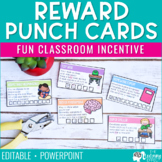 Student Incentive Punch Cards {Editable}