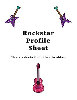 Student Rockstar Profile Sheet