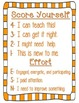 Student Self Assessment Forms for Objectives Taught