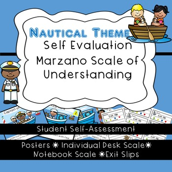 Student Self-Assessment--Posters and Exit Slips-Marzano's