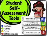 Student Self-Assessment Tools - Posters, Cards, & Student