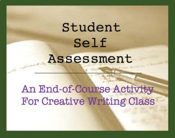 Student Self Assessment for Creative Writing Class - Short