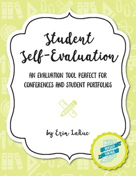 Student Self Evaluation for Conferences