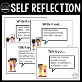 Student Self Reflection: Prompt Cards for Primary Year 6, 7