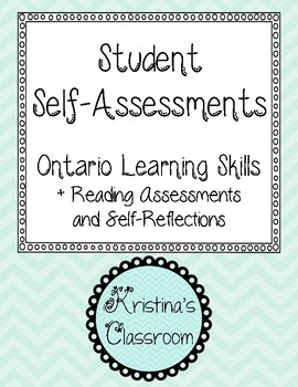 Student Self-assessments (Learning skills, reading, and tw