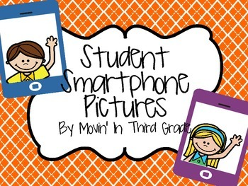 Beginning of the Year Student Smartphone Pictures