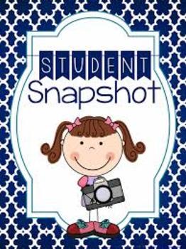Student Snapshot Template