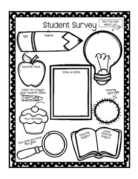 Student Survey, Meet The Student