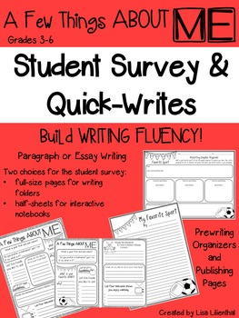 Student Survey & Quick-Writes