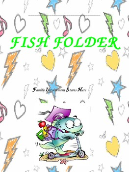 Student Take Home Binder Cover