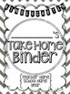 Student Take Home Binder Covers - Chevron