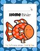 Student Take Home Binders (Fish Version)