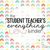 Student Teacher Binder