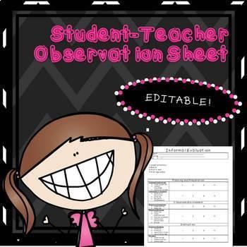 Student Teacher Observation Protocol