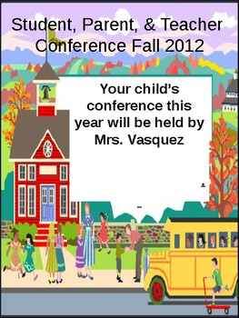 Student, Teacher, and Parent Conference