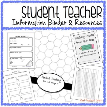 Student Teacher Information Binder and Cooperating Teacher