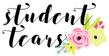 Student Tears Graphic Design - For Mug or Website Use, etc.