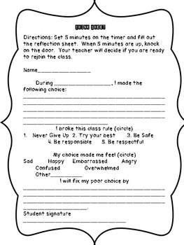 Student Think Sheet