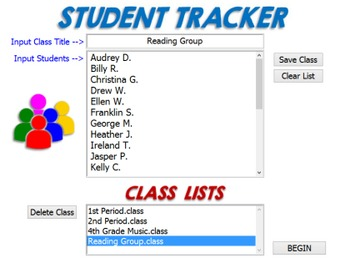 Student Tracker