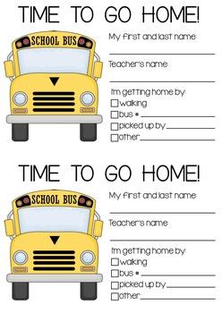 Student Transportation Cards