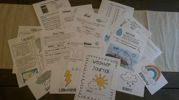 Student Weather Journal