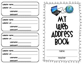 Student Web Address Book