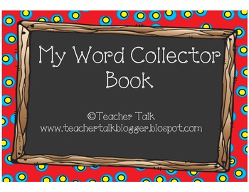 Student Word Collector