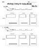 Student Worksheets, Area Model Lesson, Homework, Works wit